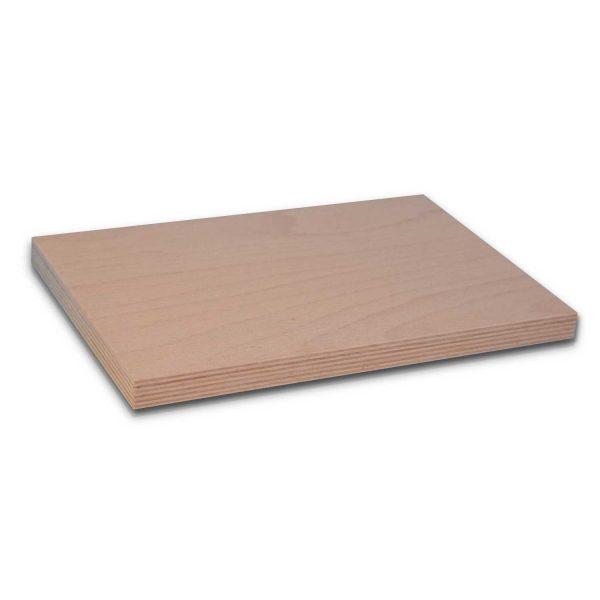 Multiplexplatte Buche 20 mm Mass Zuschnitt Shop / Abbildung ca. DIN A4